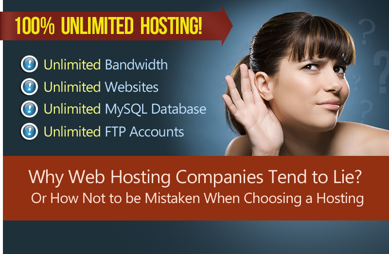 Why Web Hosting Companies Tend To Lie? Or How Not To Be Mistaken When Choosing A Shared Hosting