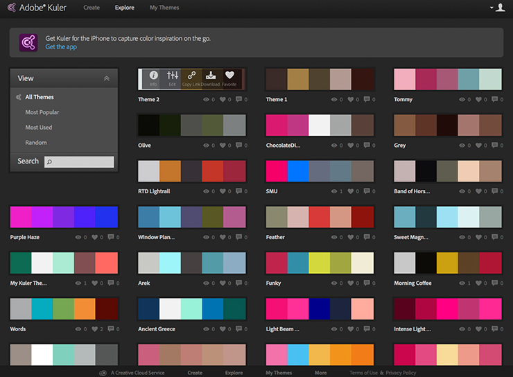 Use appropriate color schemes and fonts