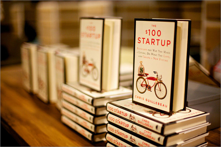 """The $100 Startup"" – Chris Guillebeau"