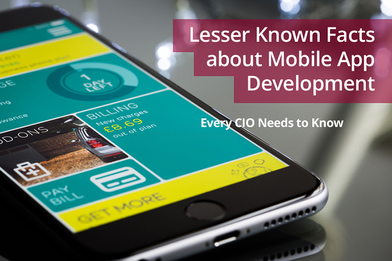 Lesser Known Facts about Mobile App Development Every CIO Needs to Know