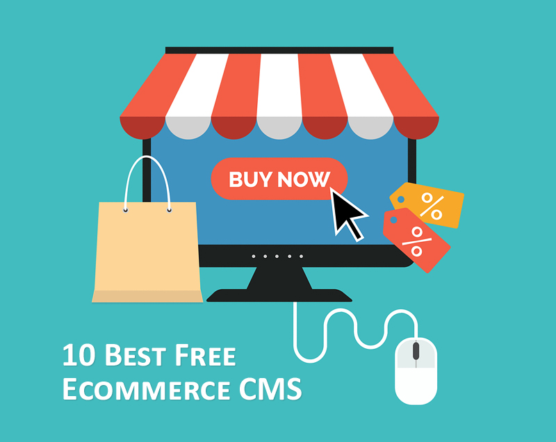 10 Best Free Open Source CMS for E-commerce Websites in 2018